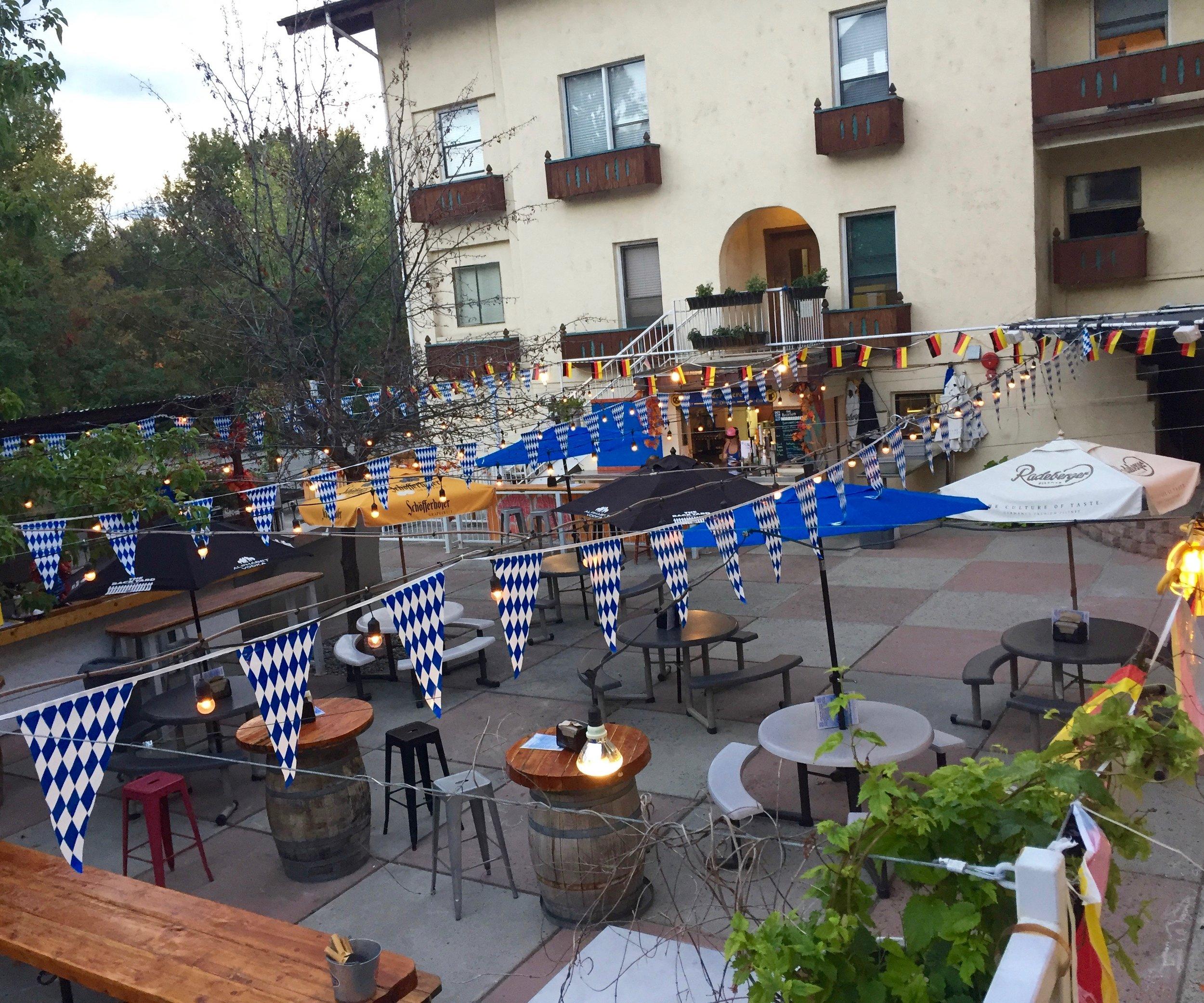Oktoberfest-Beer-Garden