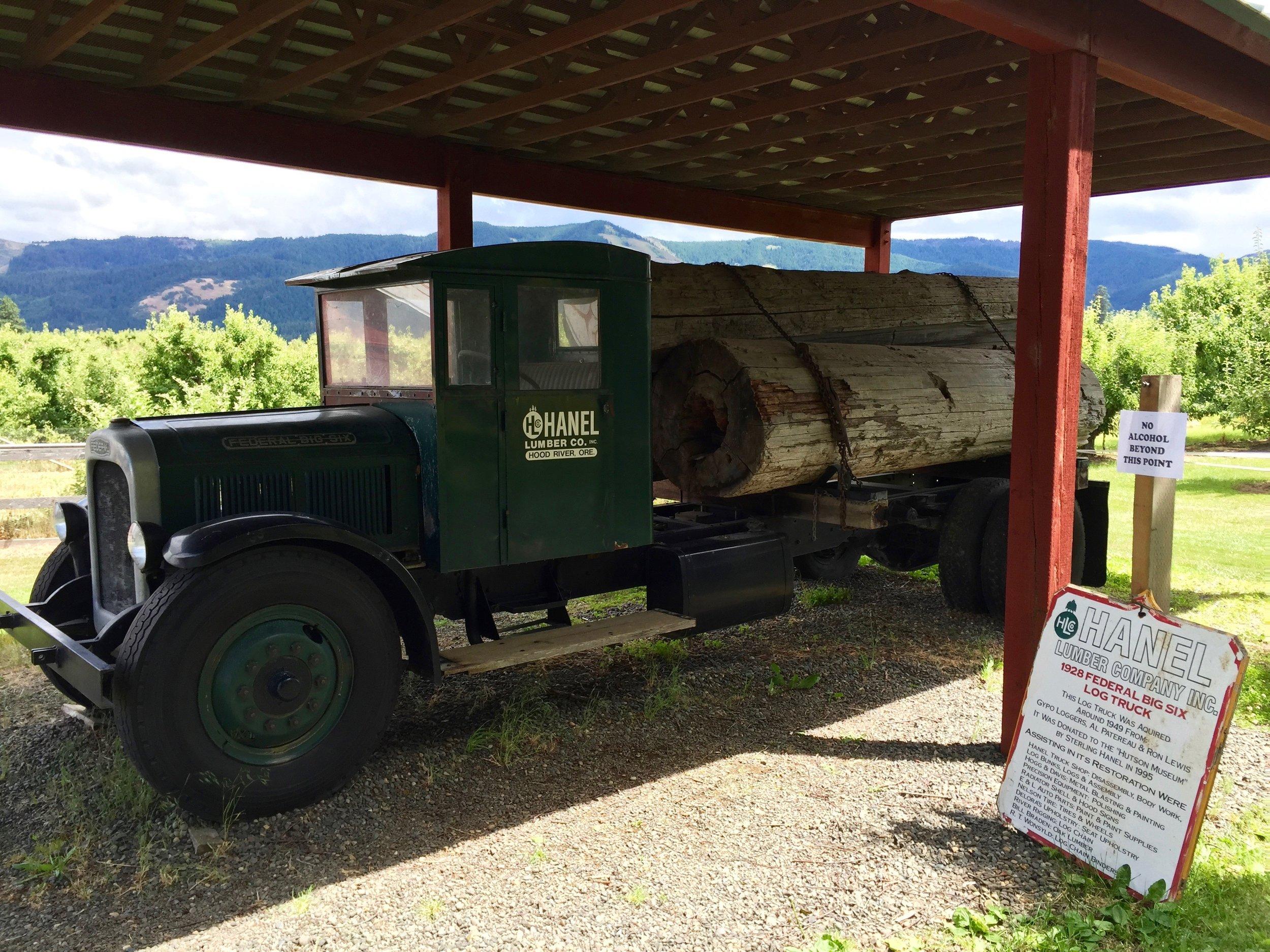 Old Lumber truck