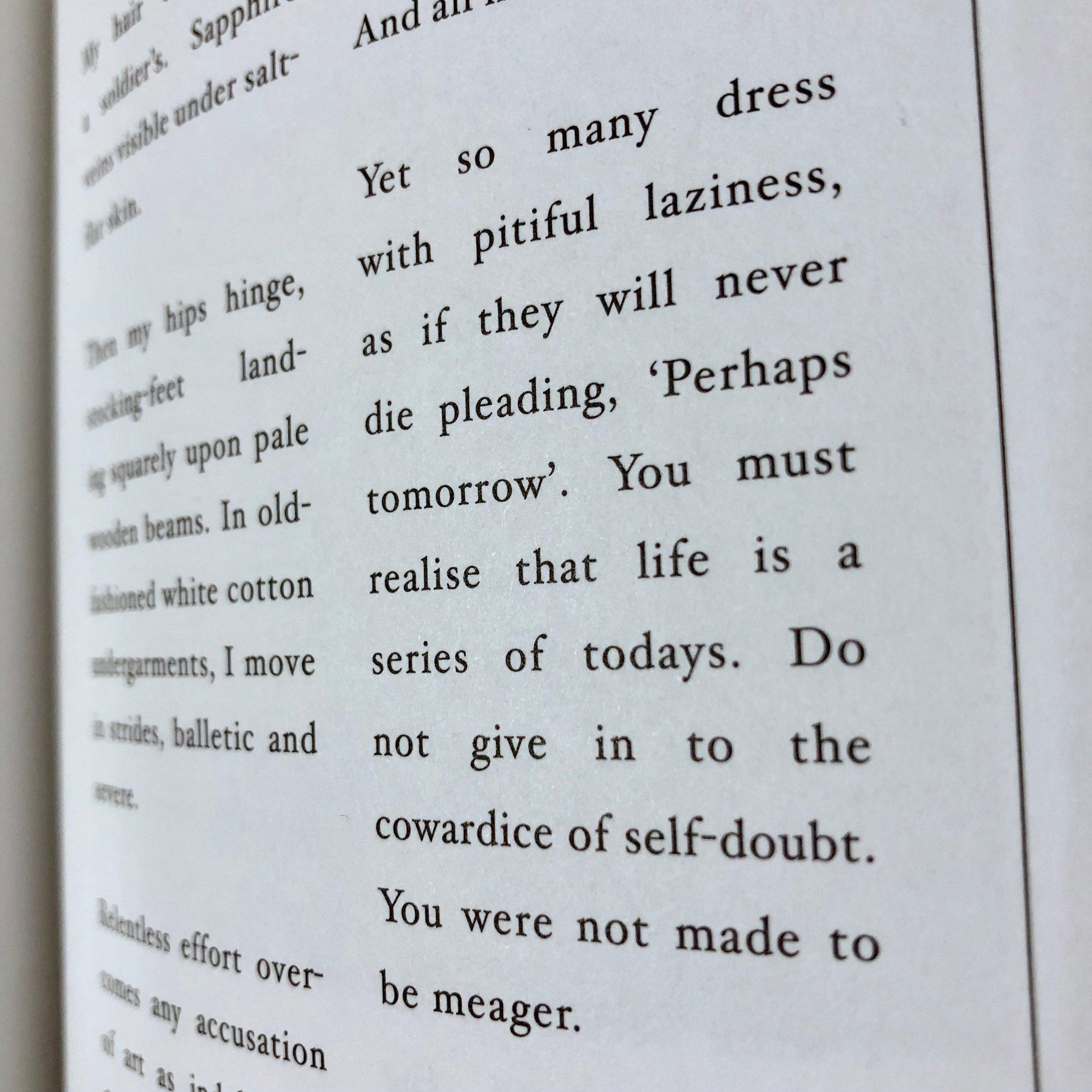 Perhaps Tomorrow.