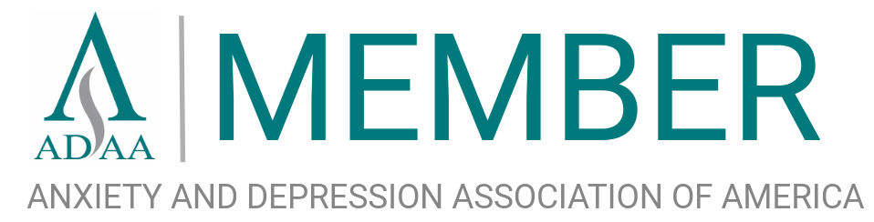 Member of the  Anxiety and Depression Association of America  since 2019