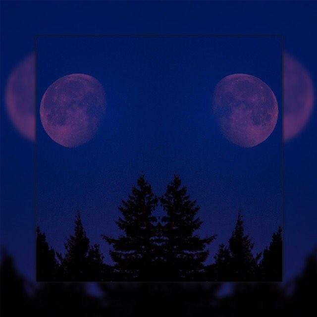 Reflecting moons by caleb beechem