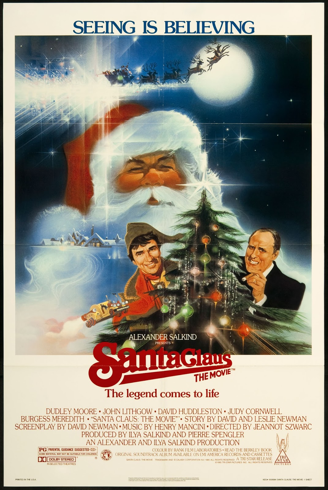 The best bad Christmas movie? Arguably so.