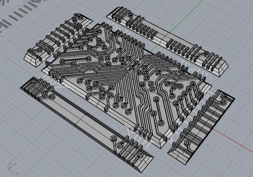 Futura Clutch in Rhino 3D