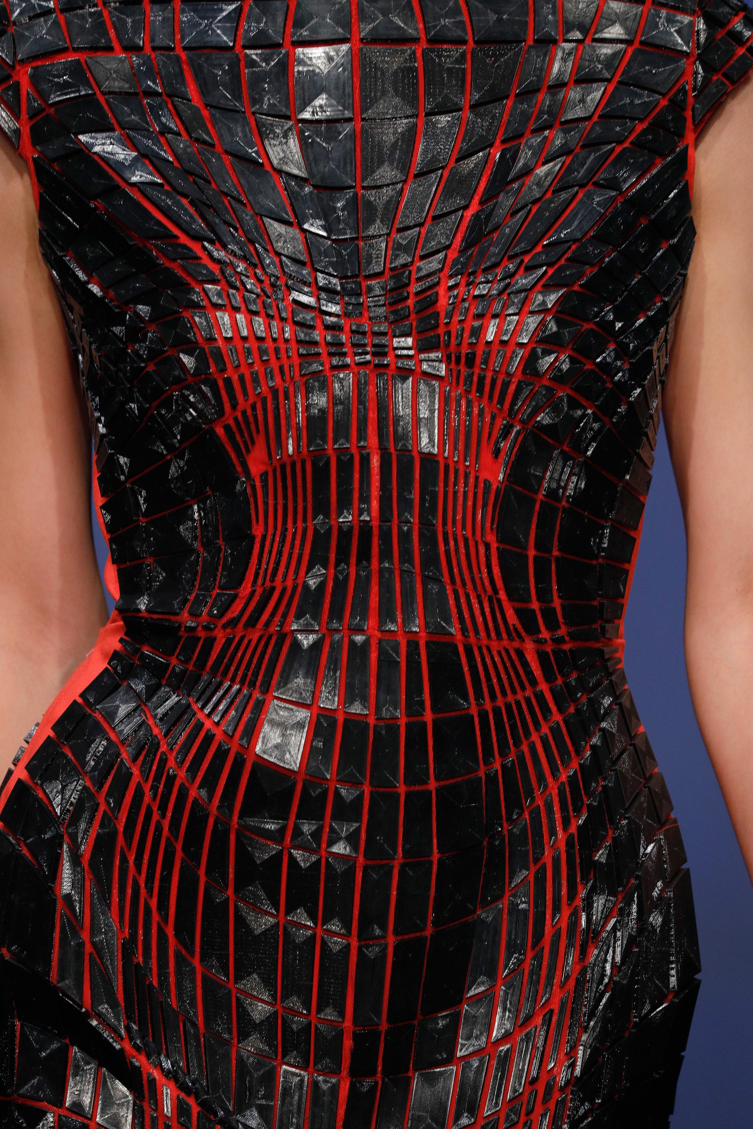 Topology Dress detail