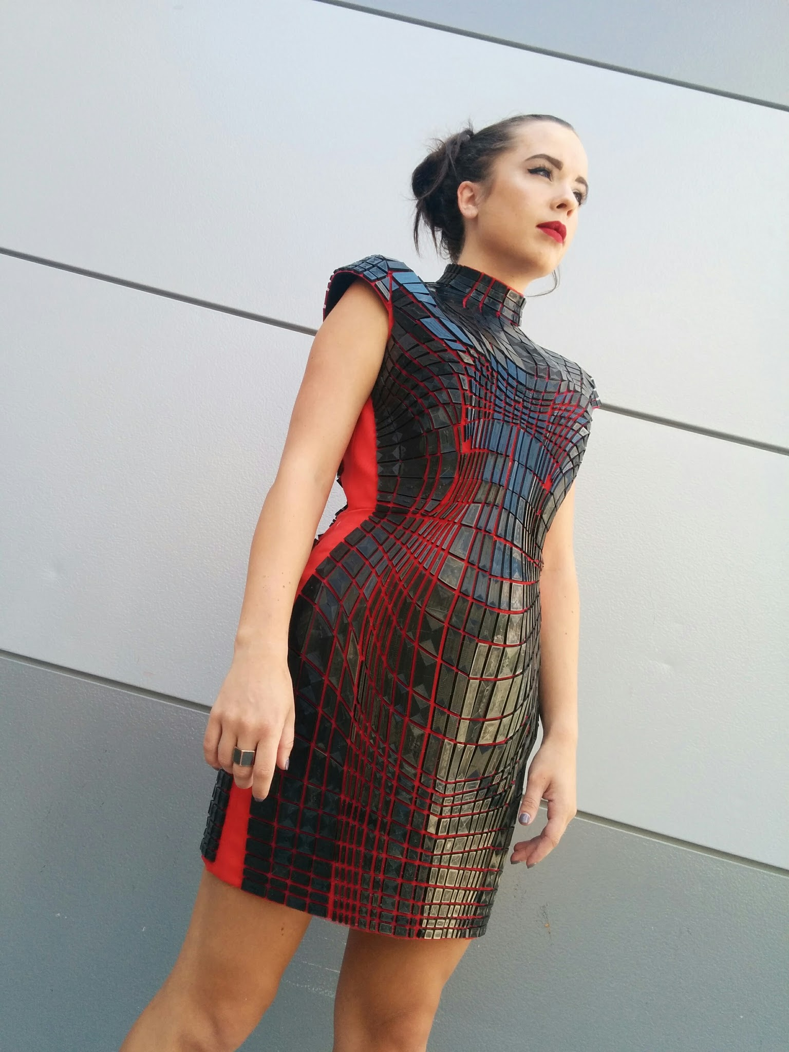 Topology Dress front