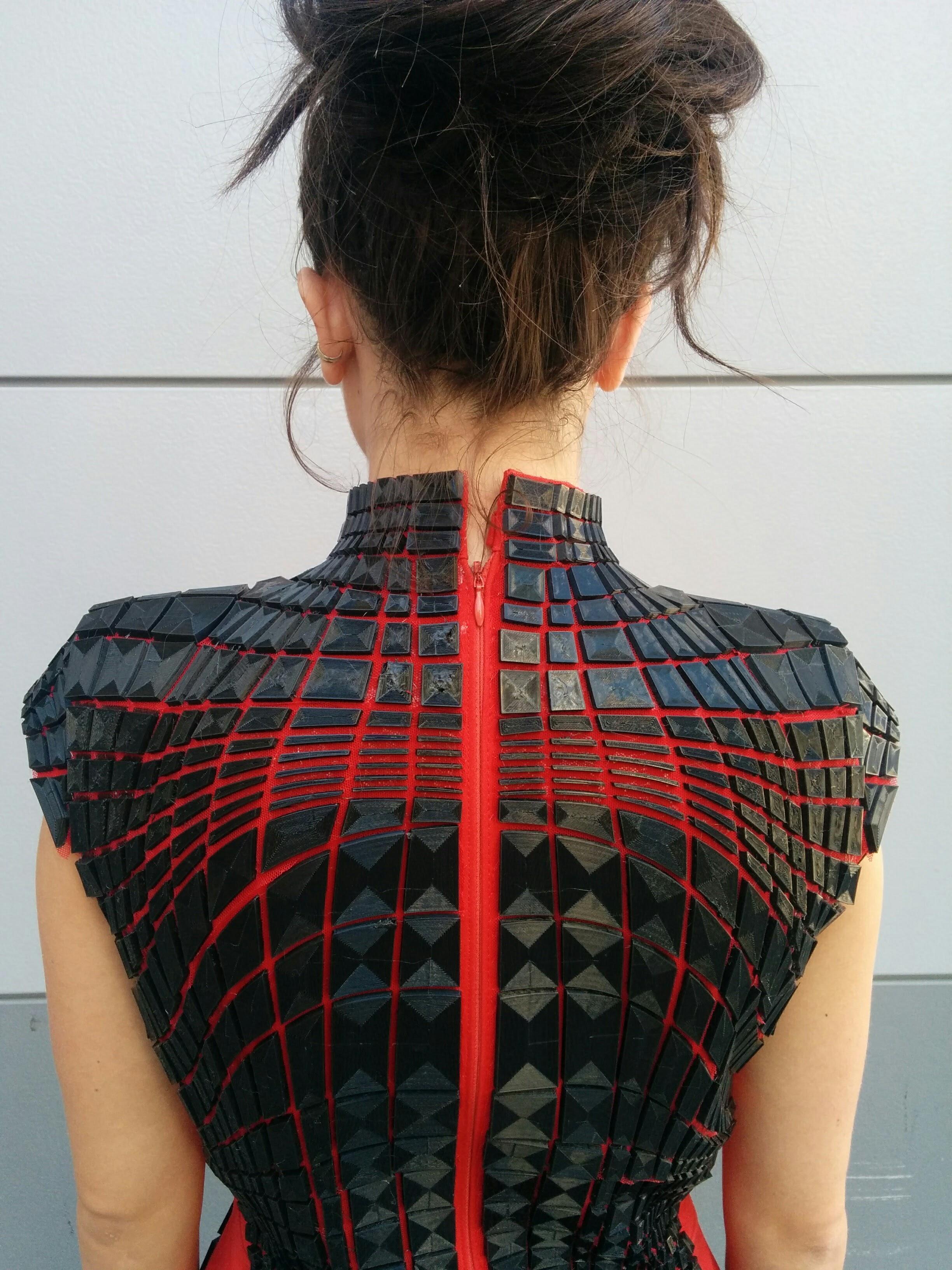 Topology Dress back