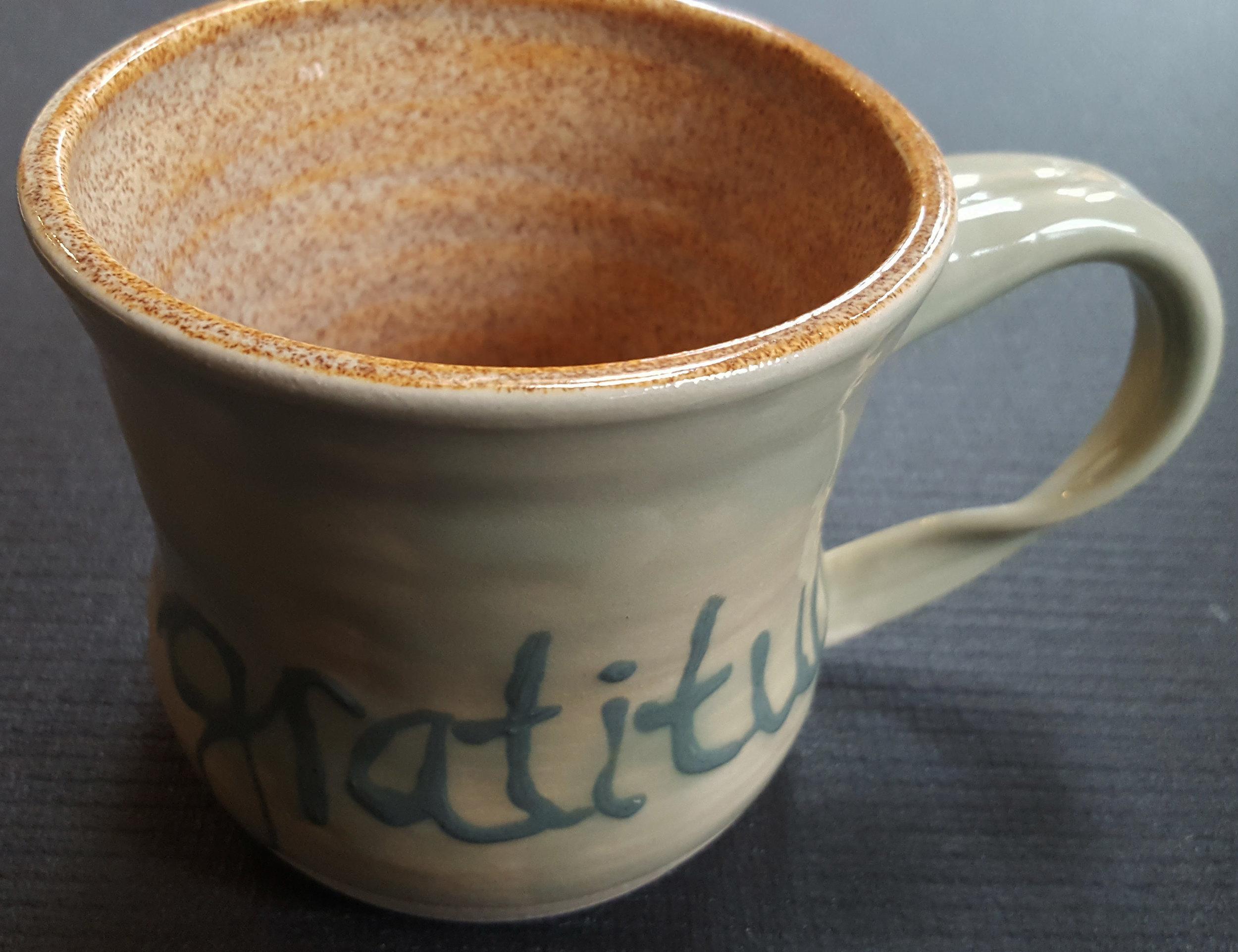 gratitude - 16oz mug