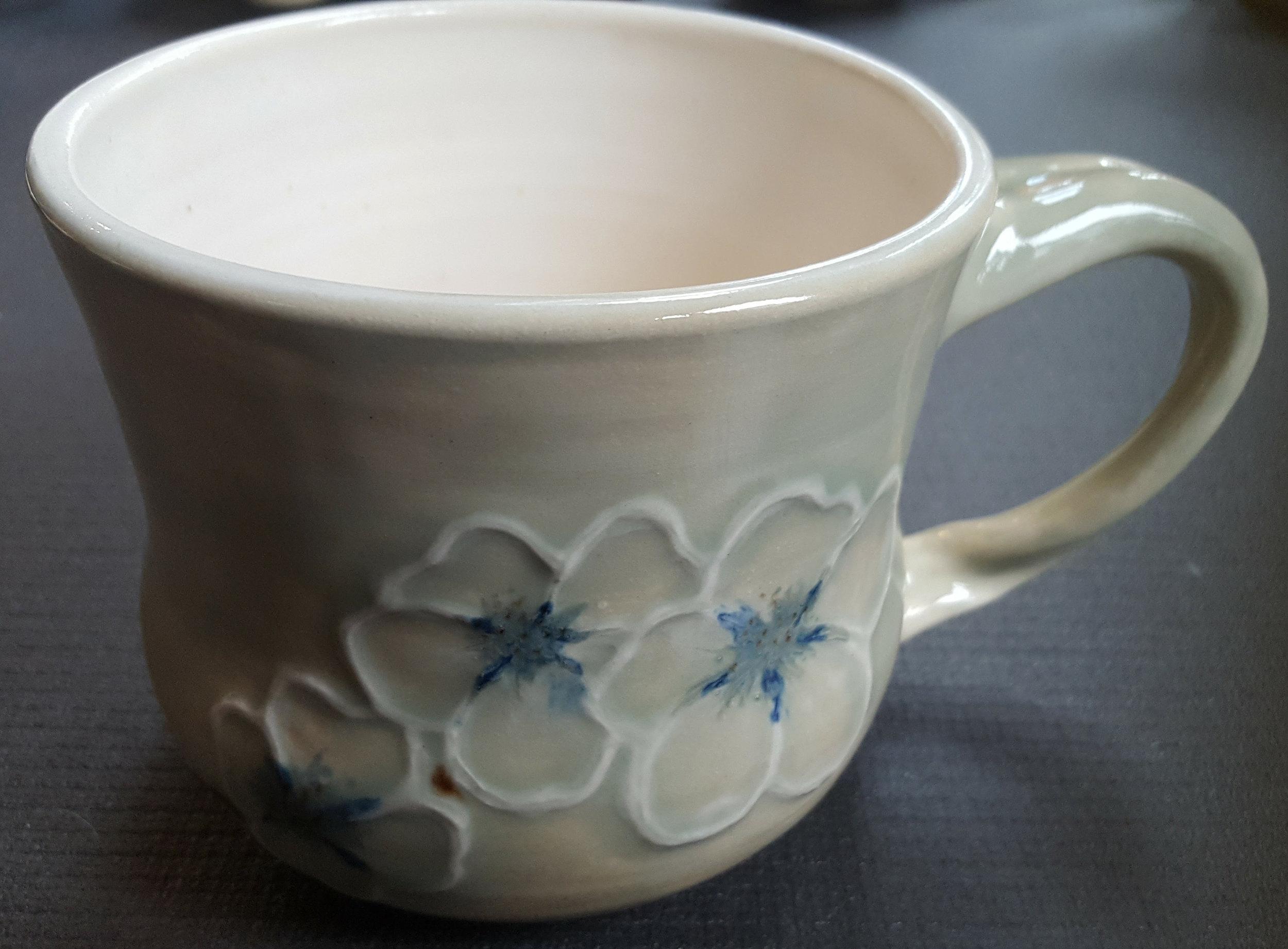 cherry blossom - 16oz mug