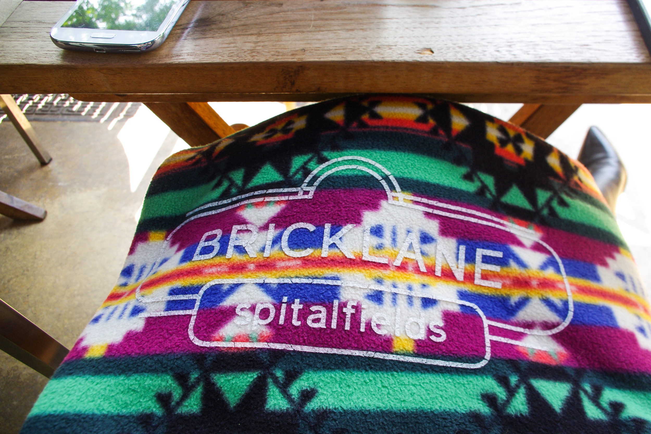 I adore these customised blankets! Applaud worthy branding.