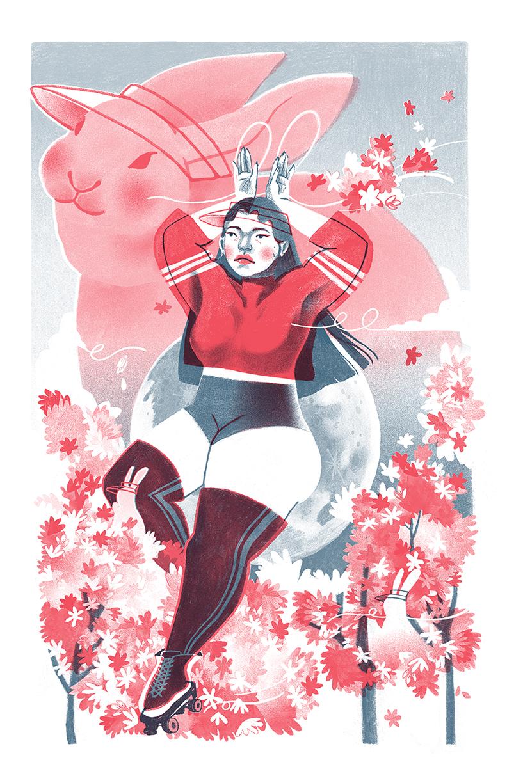 3Sena Kwon - cherry bunny blossom_riso.jpg