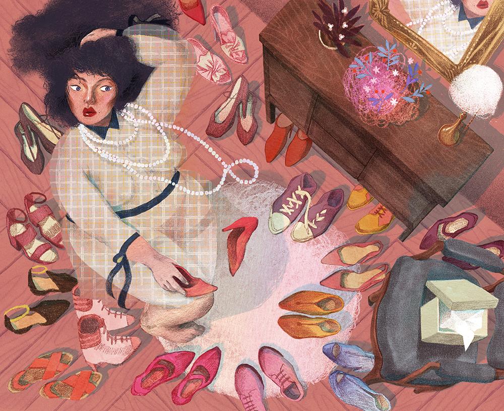4Sena Kwon - Daily struggle of choose shoes.jpg