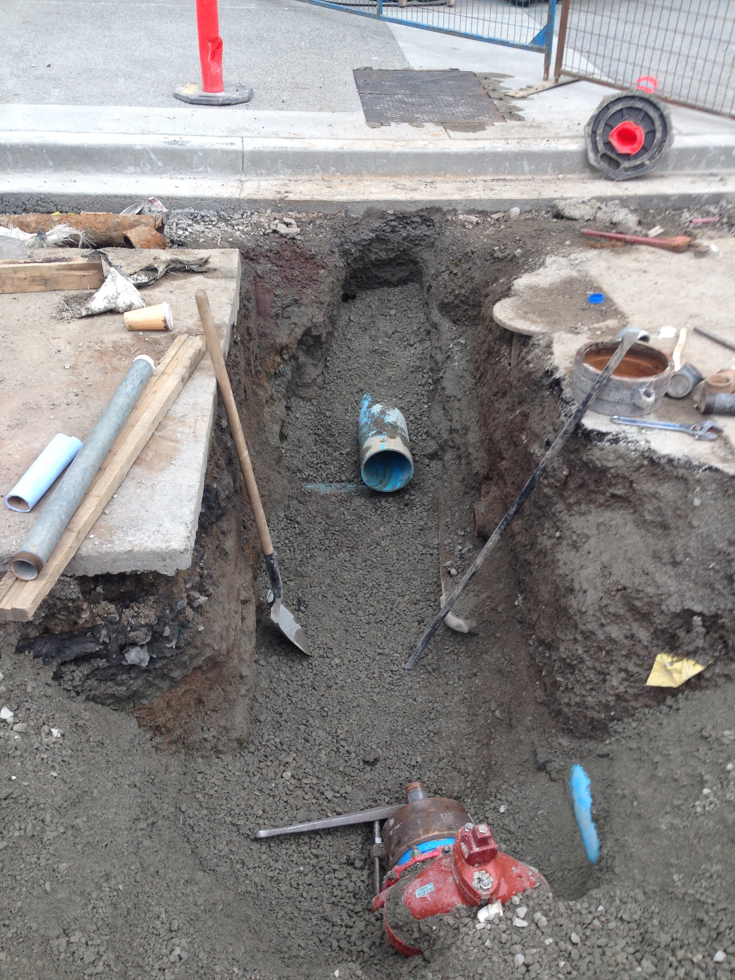 watermain replacement victoria engineer