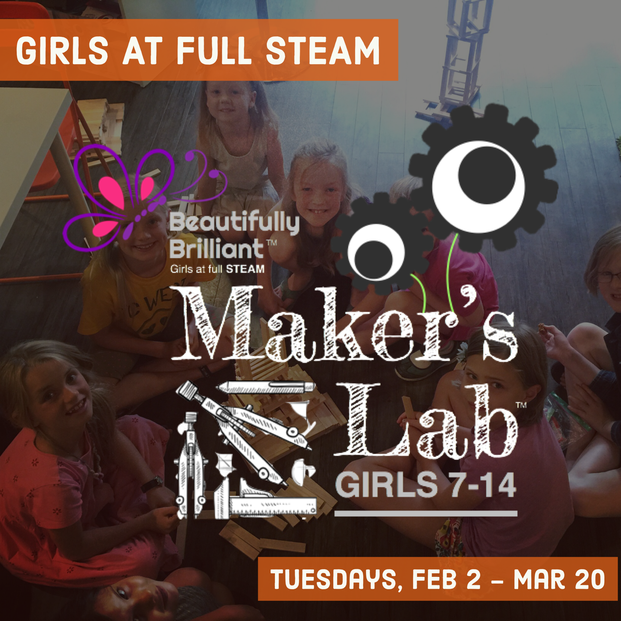 """MAKER""""S LAB  February 2 - March 20 