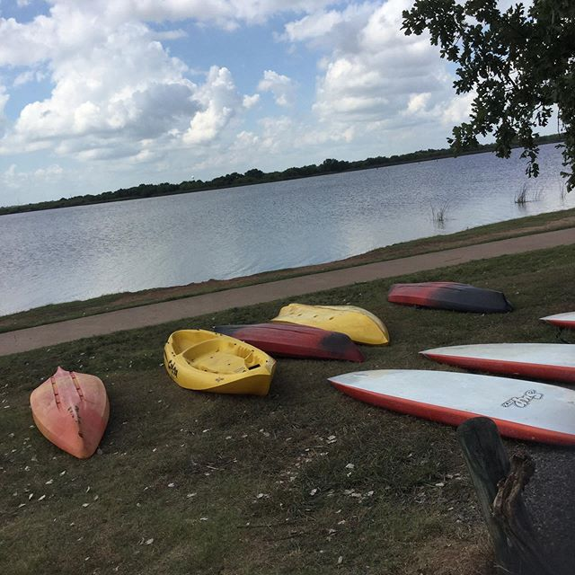 Open! #sundayfunday #kayak #paddleboarding #wichitafalls