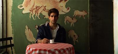 """Opening shot, """"The Legend of Tennessee Moltisanti"""", from 'The Sopranos' season 2. Image via m0vie blog."""