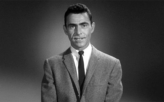 Rod Serling, creator of 'The Twilight Zone.'