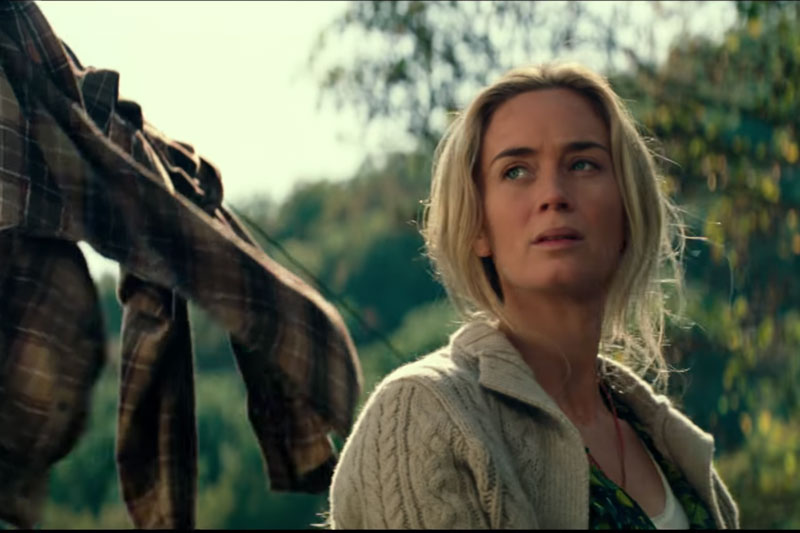 Emily Blunt in 'A Quiet Place'.