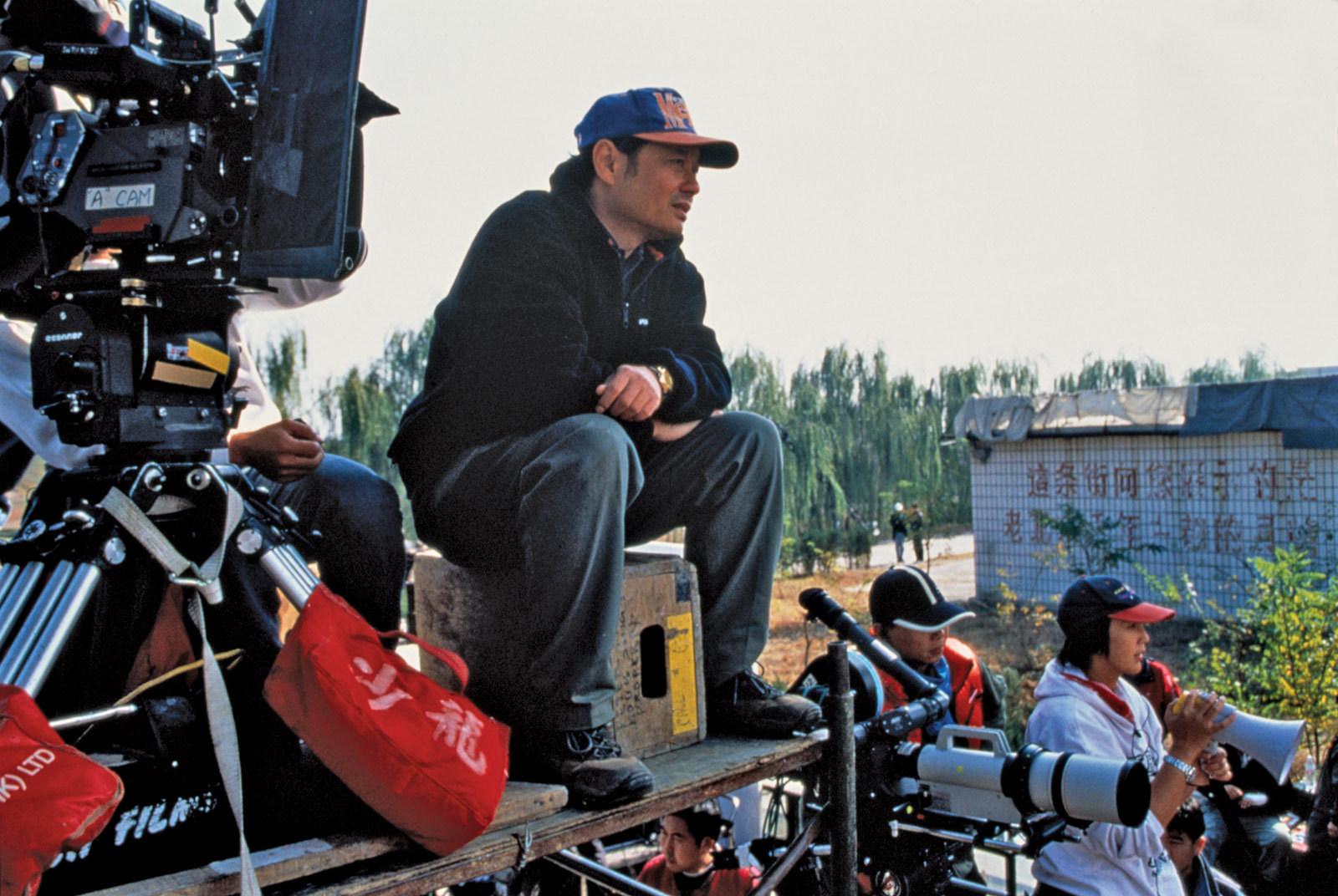 Ang Lee on set. Image via ShotOnWhat?