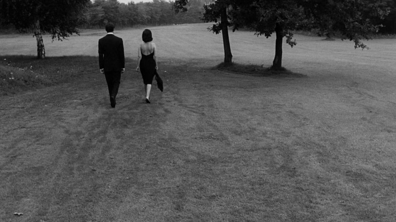 A closing shot from 'La Notte.' Image via MUBI.