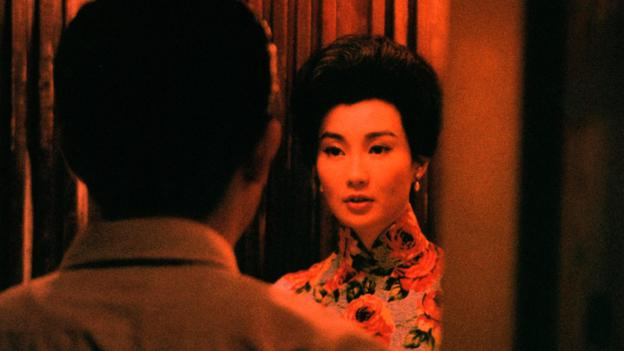 A still from 'In the Mood for Love.' Image via BBC.