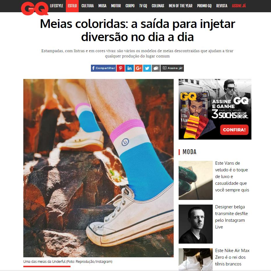 GQ - Meias coloridas: a saída para injetar diversão no dia a dia