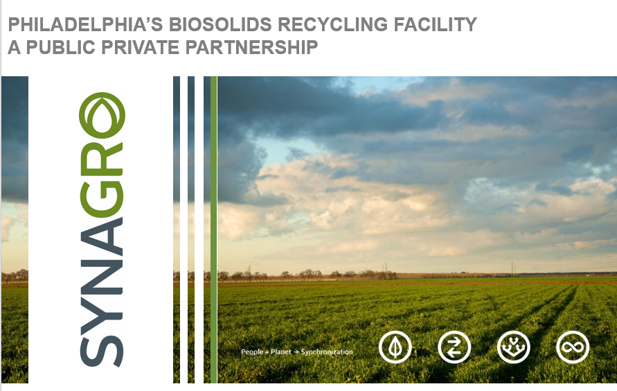 Philadelphia's Biosolids Recycling Facility - A Public Private Partnership Pt. 2 - Pam Racey, Synagro