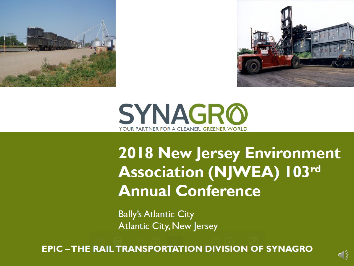 EPIC - The Rail Transportation Division of Synagro | Synagro
