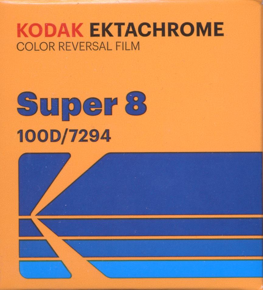 EKTACHROME 100D/7294   $40.00 - 50ft SUPER 8 Cartridge