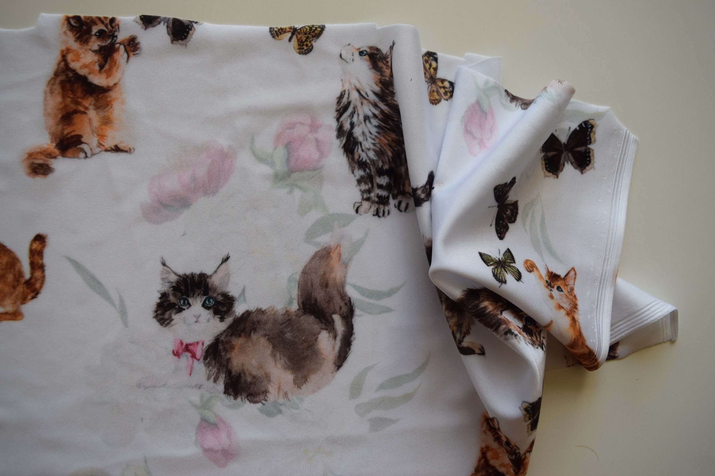Watercolor Kitties