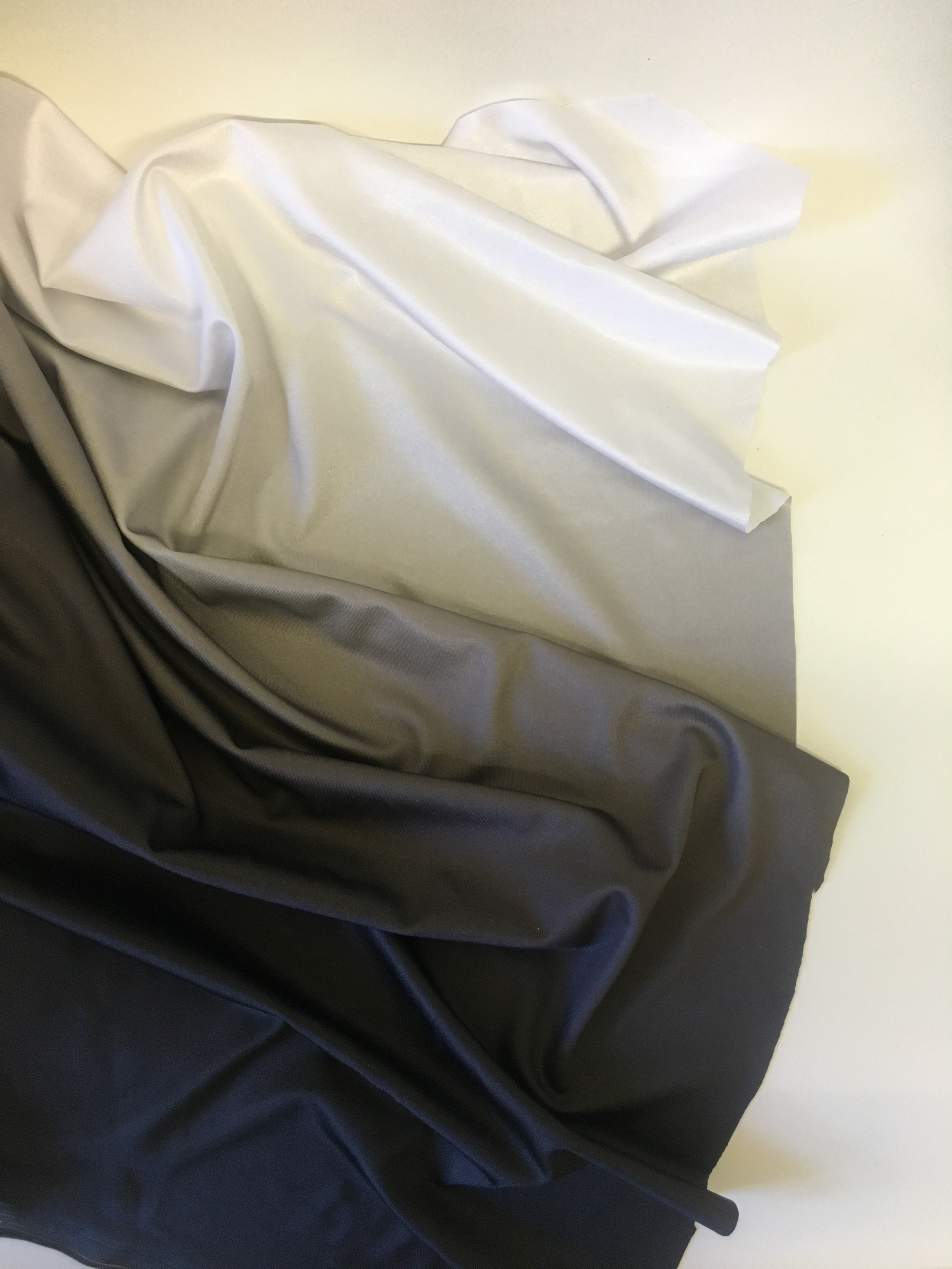 Black/White Ombre
