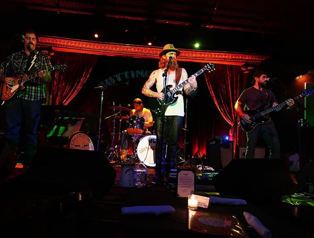 Had a blast @cuttingroomnyc last night! Tambourine Man showed up to shake it and we reunited on stage with Cousin Matt! Thanks for all the support and thanks to @elise.cassidyy for the great shots! On to Philly tonight at 9 with Petty cover band Dancing With Mary Jane! #borntorocknroll #highwayrefugees