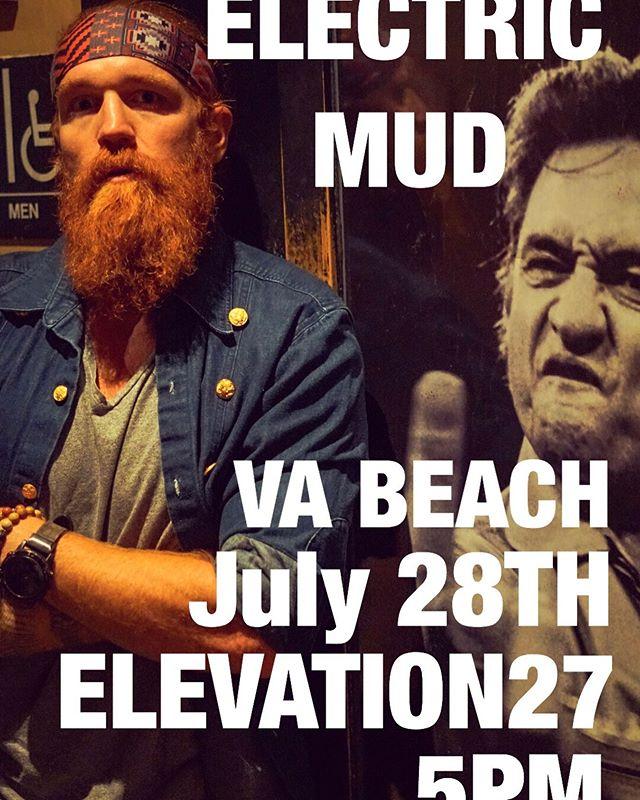 In VA Beach for the next 2 nights! Don't miss it!  Round 2 tomorrow night at 5! @elevation27vb  #borntorocknroll #highwayrefugees