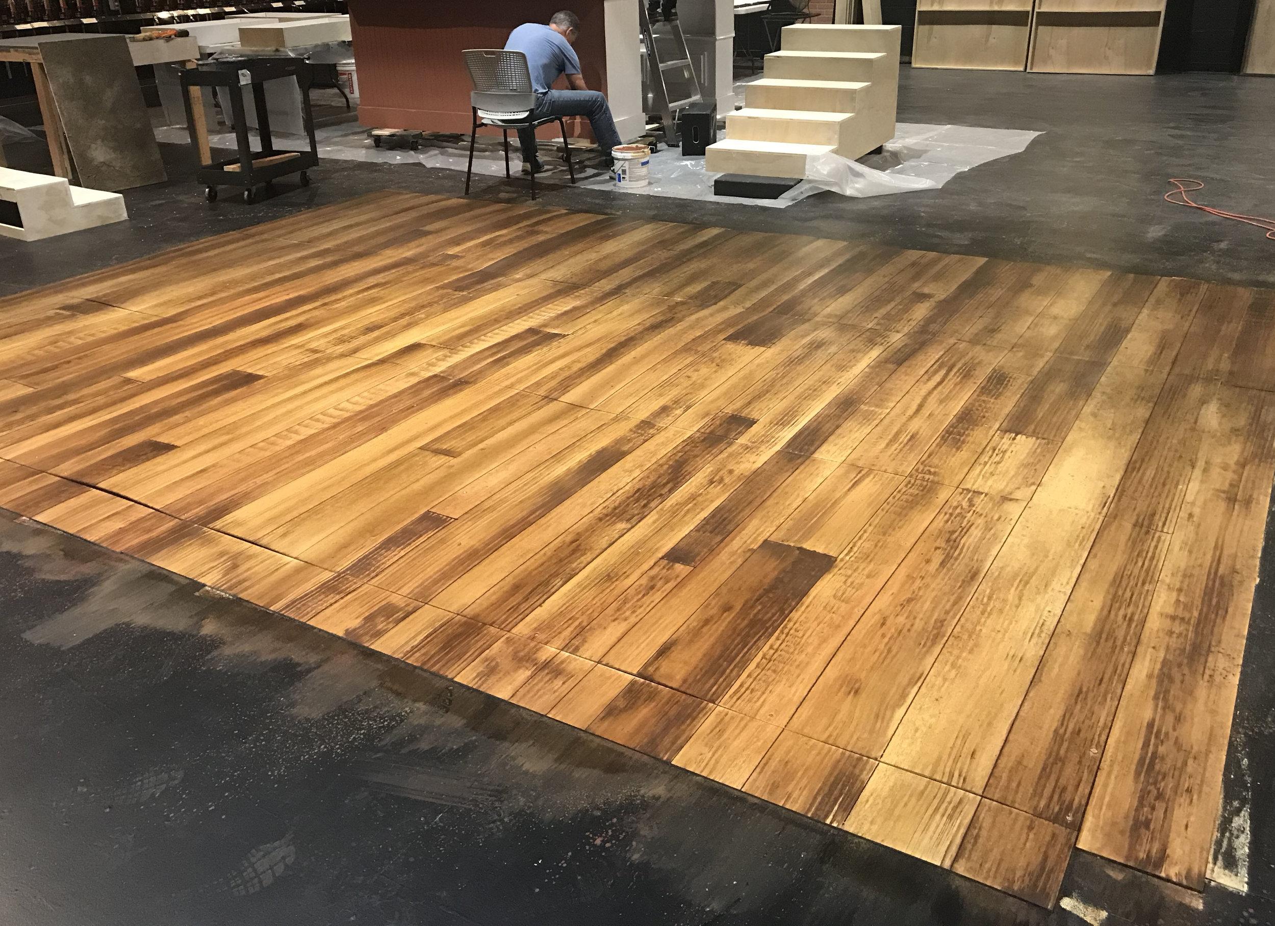 Faux Wood Flooring