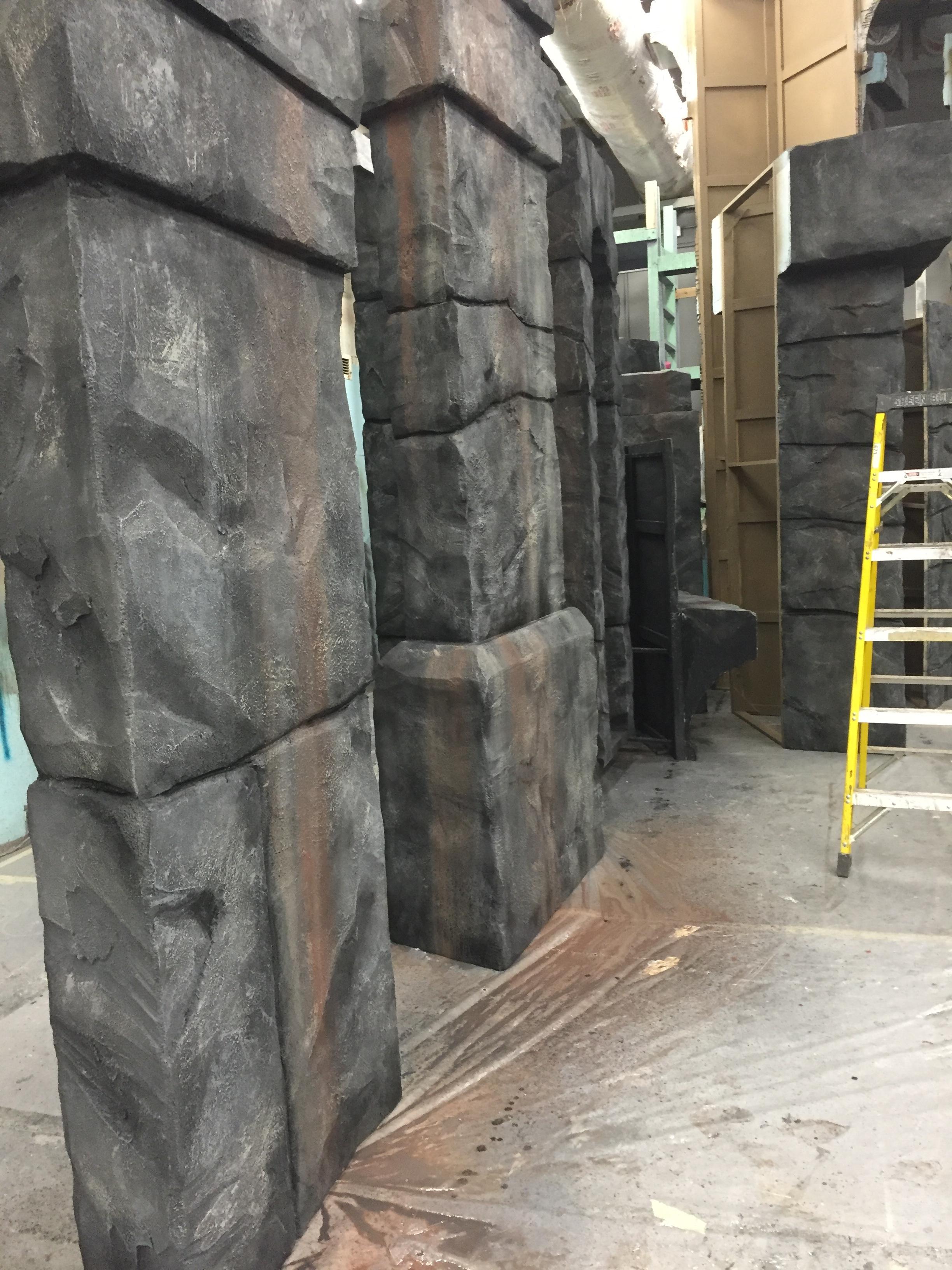 Sweeney Todd - Rock Columns