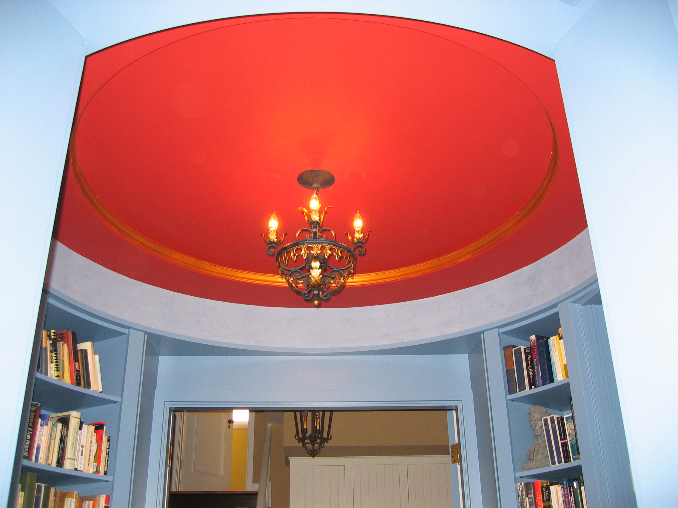 Painted circular library (3).JPG