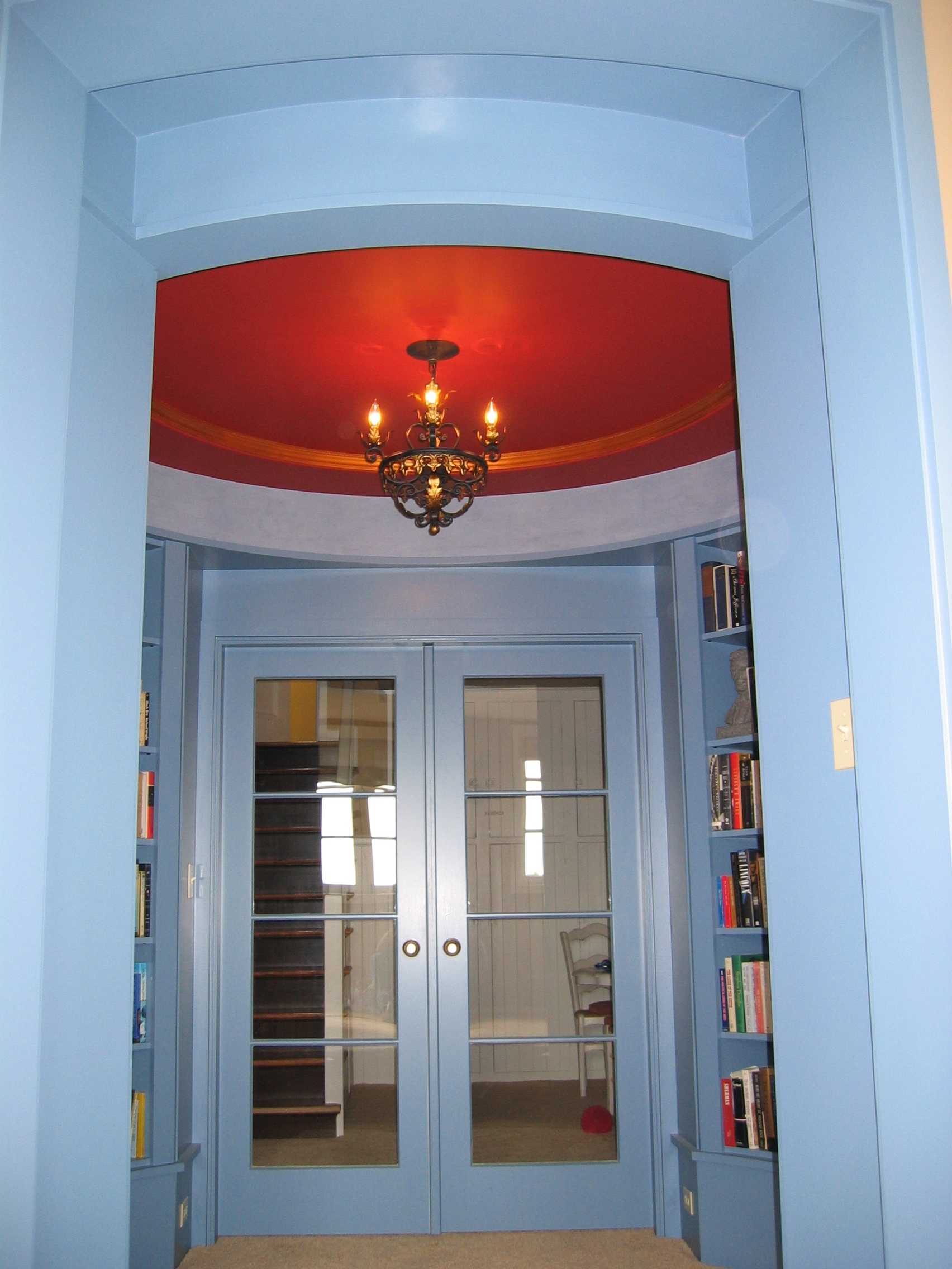Painted circular library (4).JPG