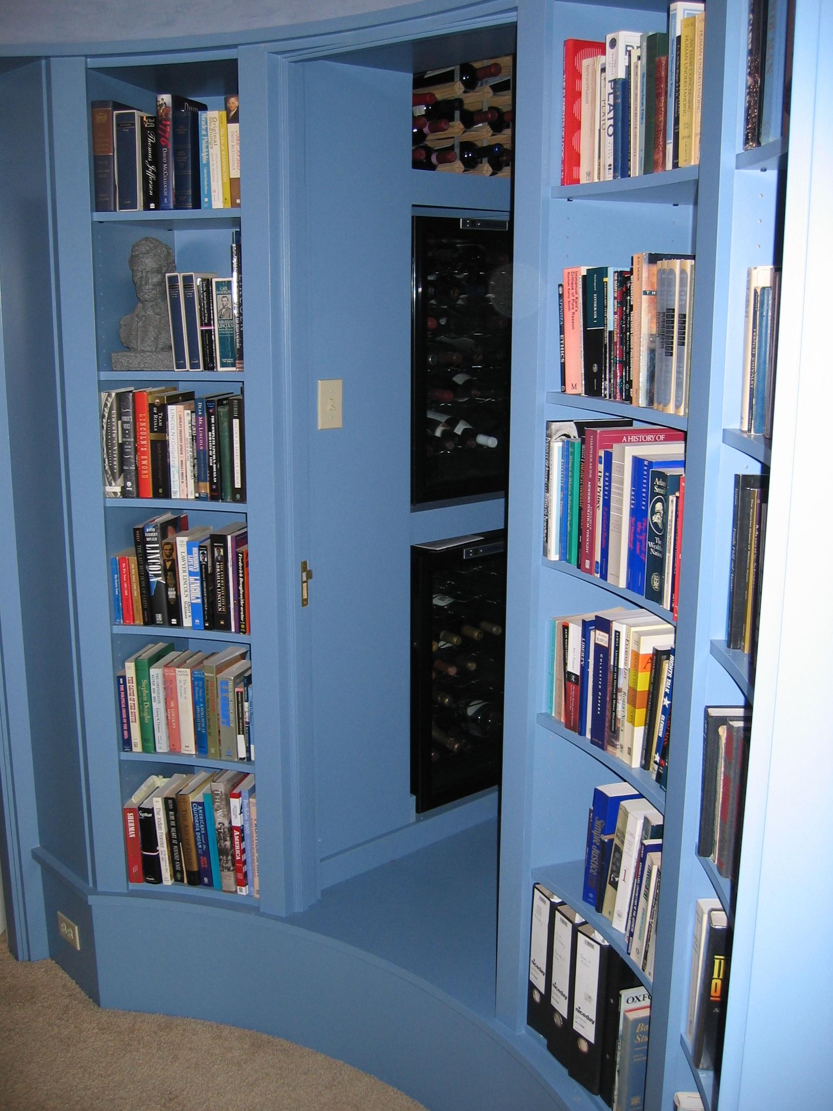 Painted circular library (5).JPG