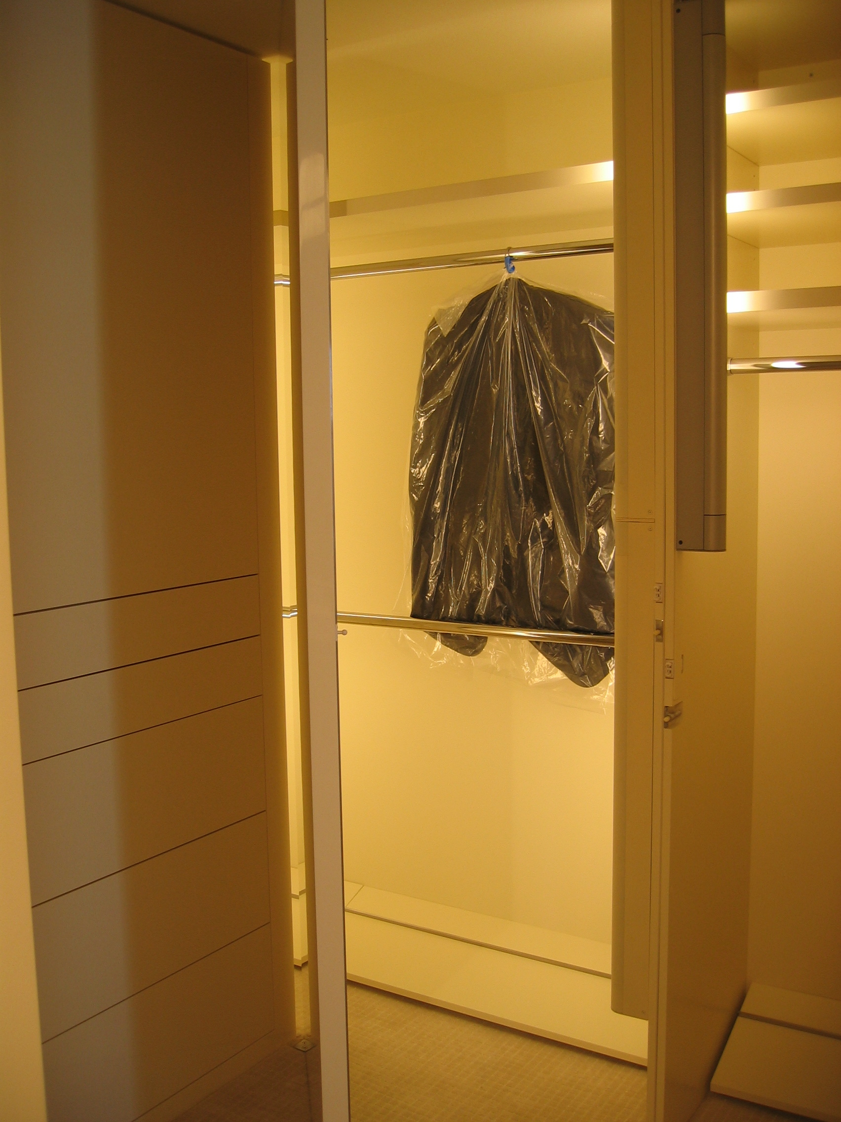 High Gloss Guest Closet Unit