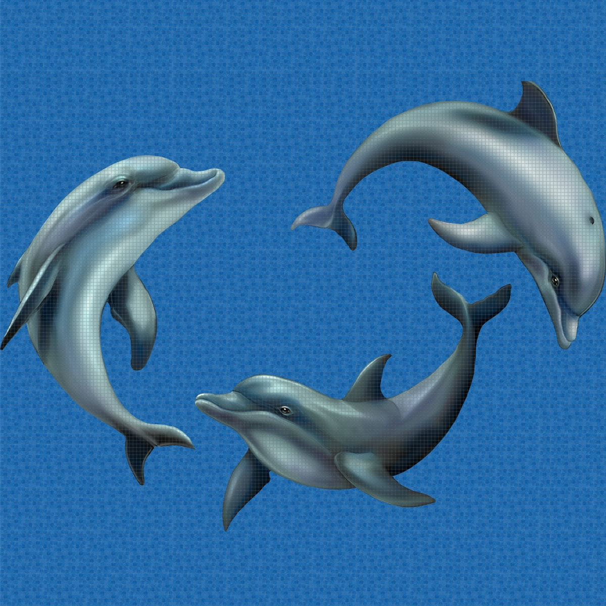 Playing-Dolphins-Digital_Print-Mosaic-Ezarri.jpg