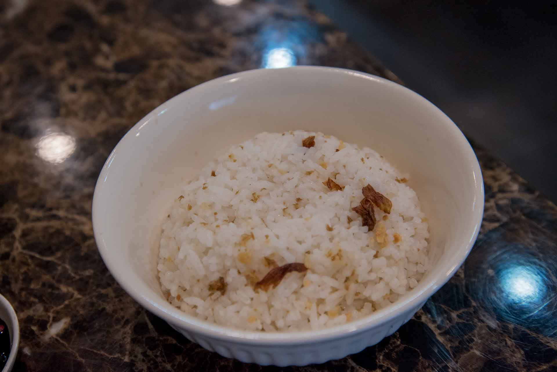 Fragrant rice with shallots - MYR 2.00