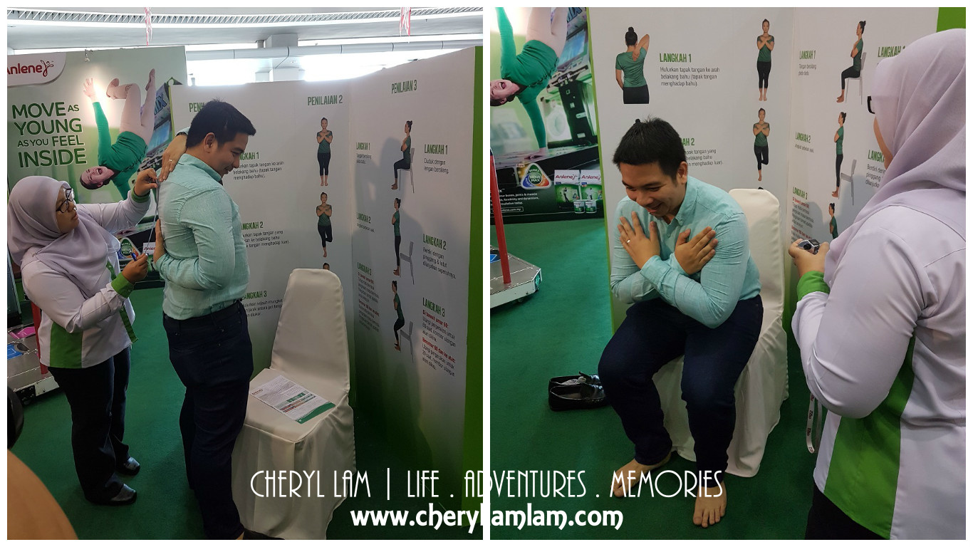 Mr. Paulo doing his mobility check