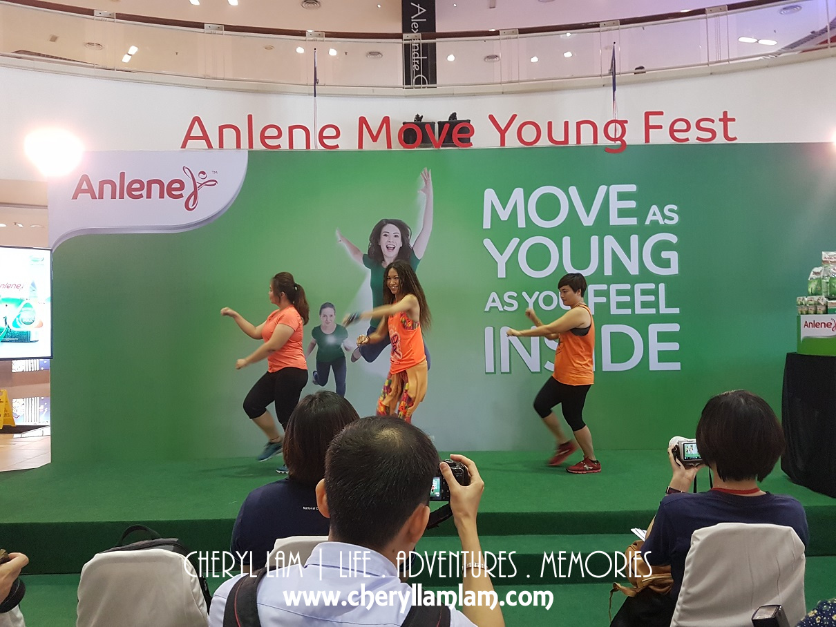 We had CHI Fitness instructor, Lisa together with her team to perform an aerobic dance for the launch