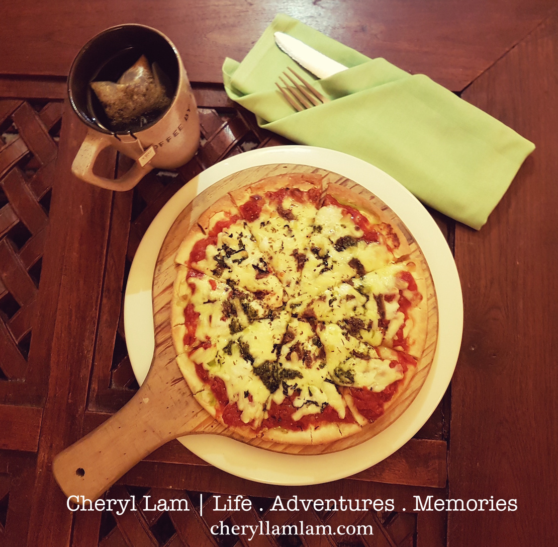 Langkawi Buffalo Mozzarella Pizza - Pesto and Anchovy