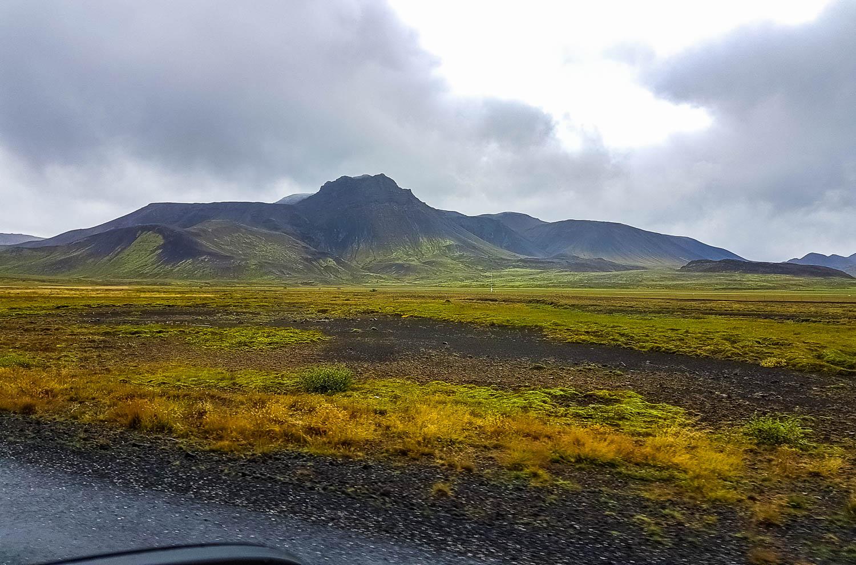 Beautiful landscape along the way