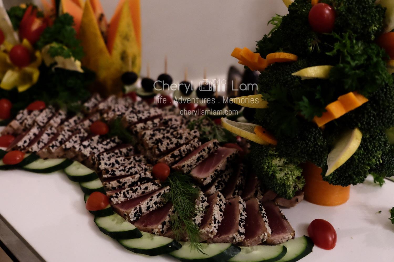 Sesame coated Tuna