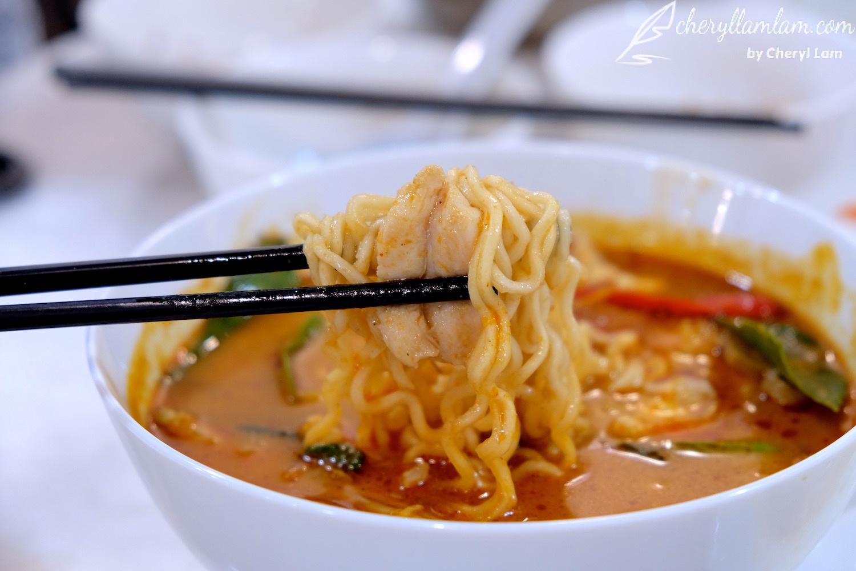 Yuan Wei Restaurant Penang tom yam maggi