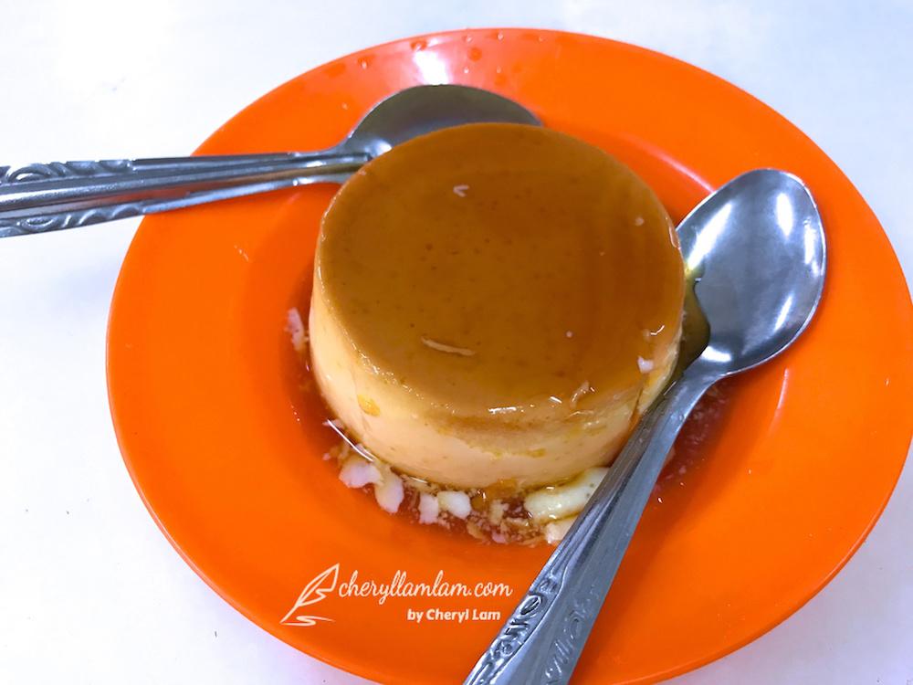 Restaurant Thean Chun steamed caramel custard