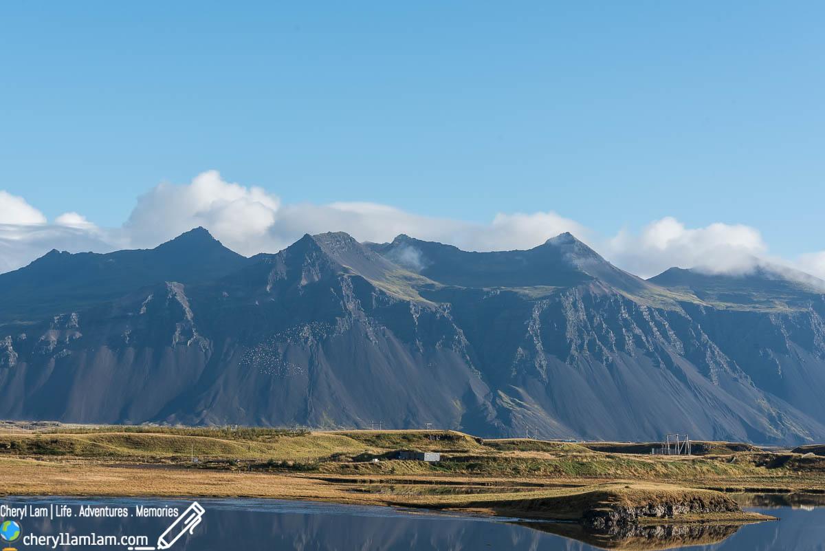 Hofn campsite Iceland