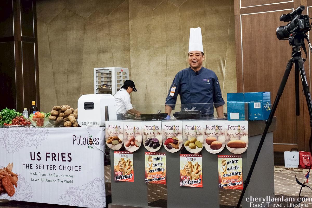 Chef Audee, PKT, PJK's fabulous cooking show!