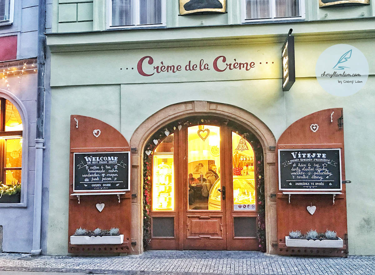 Creme de la Creme ice cream Prague